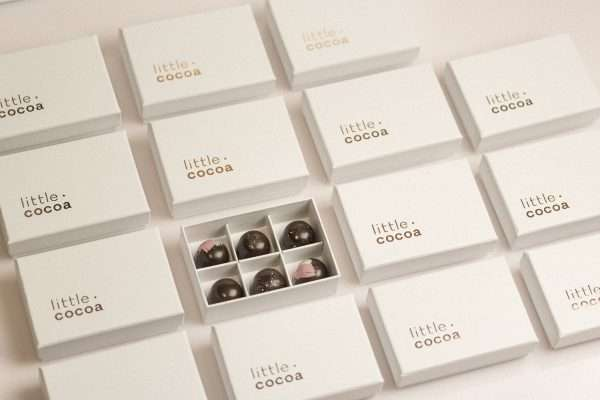 15 signature chocolate praline gift boxes - delivered 10